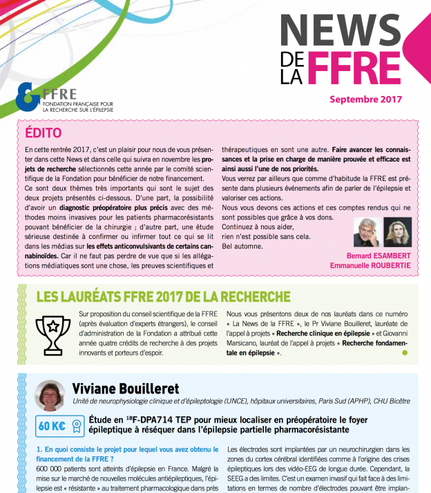 newsletter septembre 2017