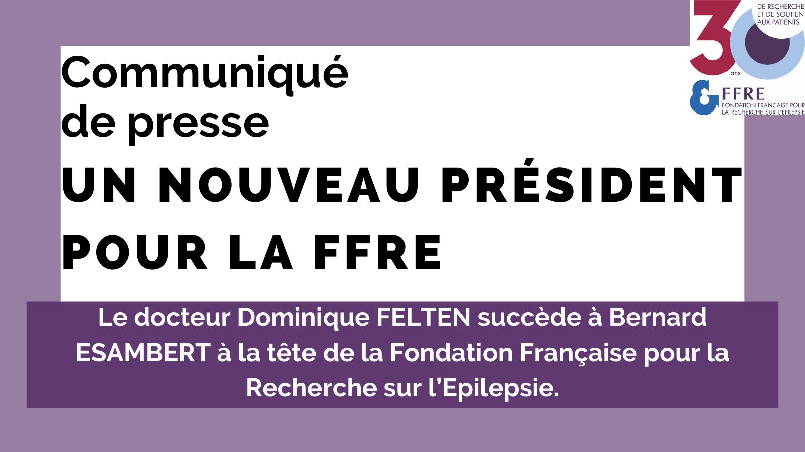 Communiqué de presse nouveau président FFRE